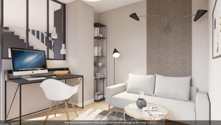 Home staging bureau niveau 1