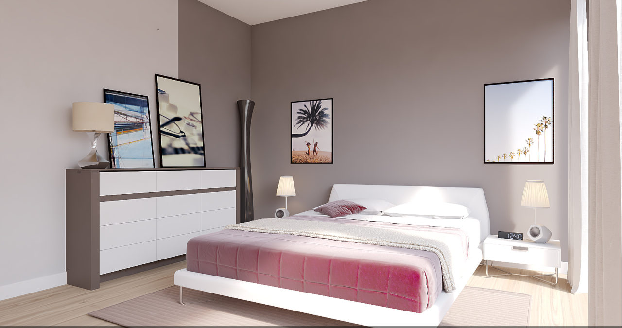 Home staging chambre 1