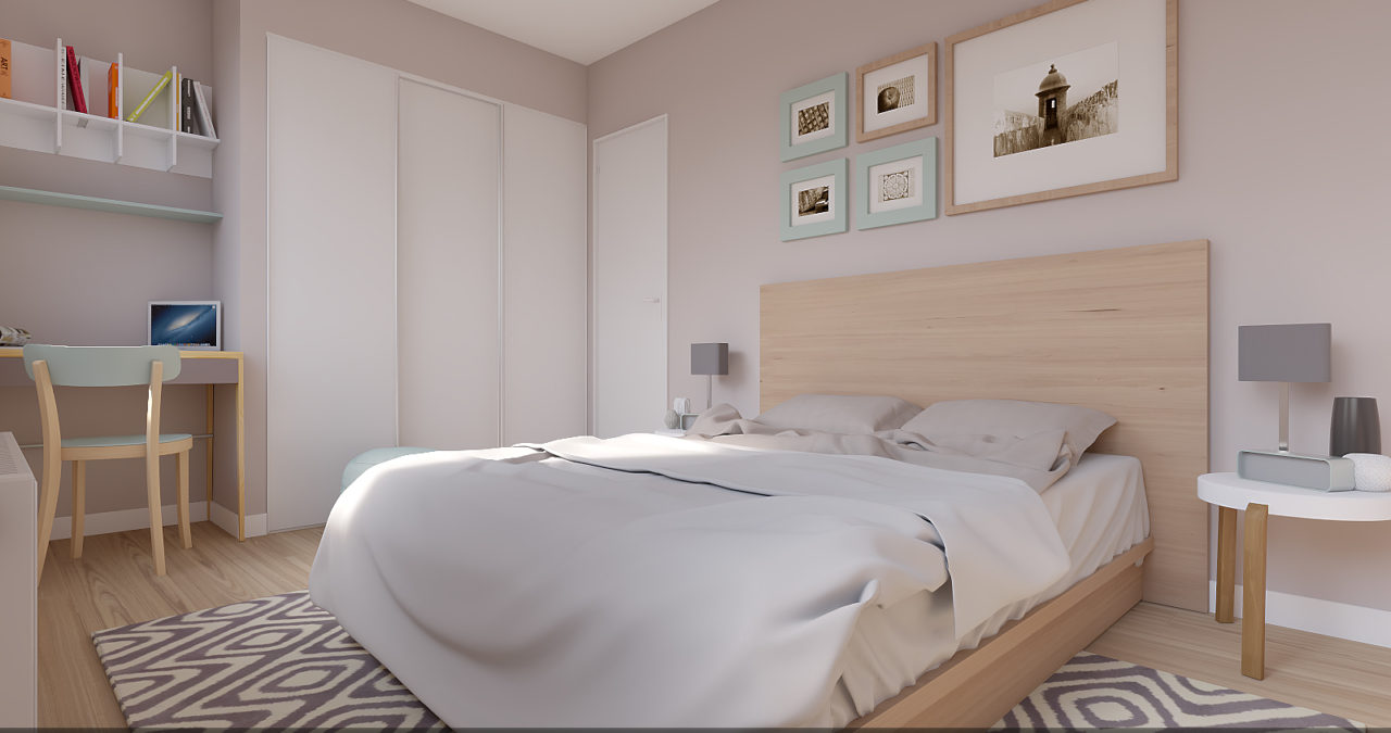 Home staging chambre 2
